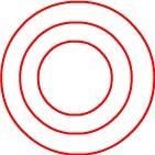 電流が流れている銅線の周りに発生する磁力